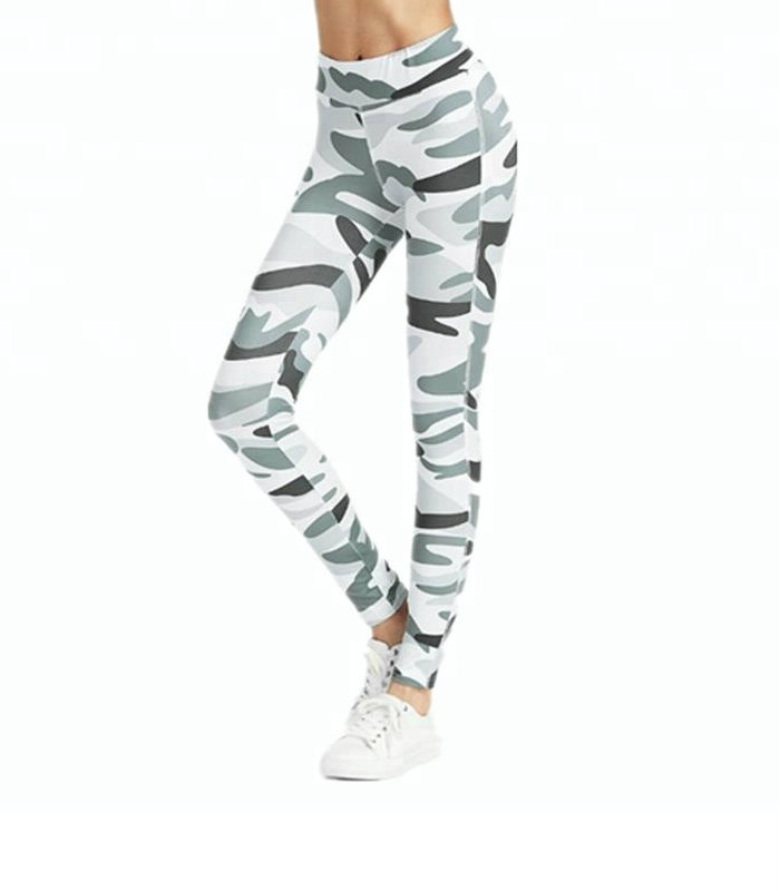 Camo Printed Womens Leggings Manufacturer USA