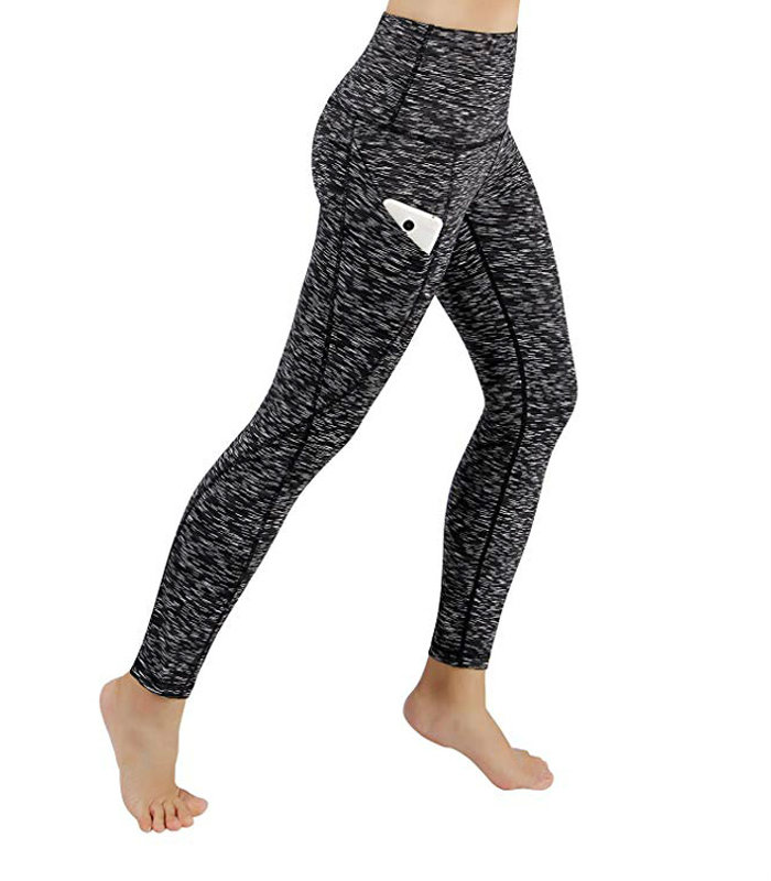 High Waist Yoga Leggings With Pocket Manufacturer