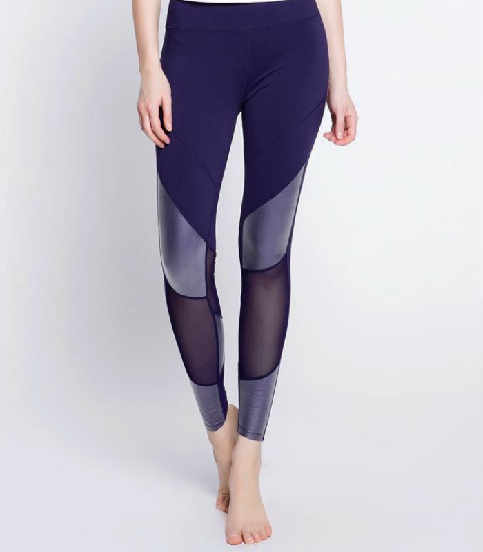 Mesh Design Leggings Manufacturer USA