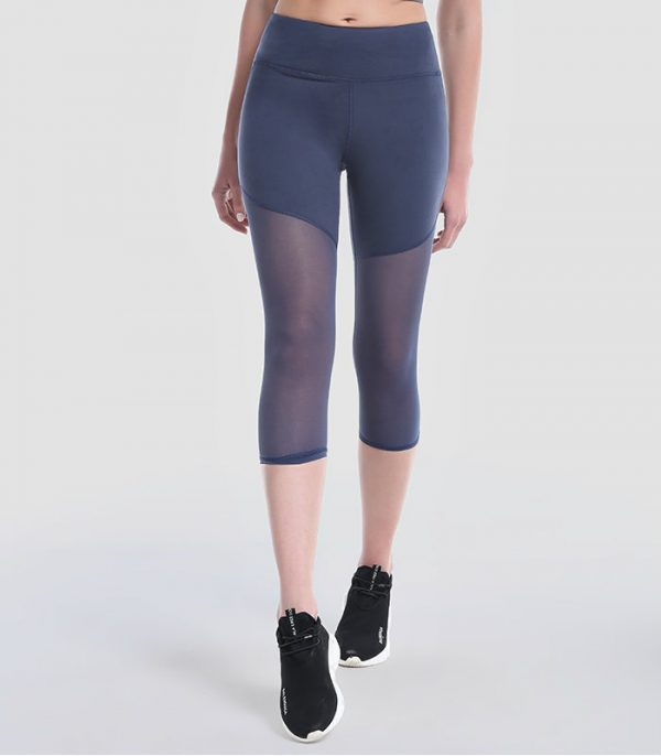 wholesale mesh yoga capri manufacturer