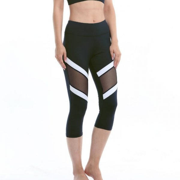 Splice Cropped Capri Manufacturers USA