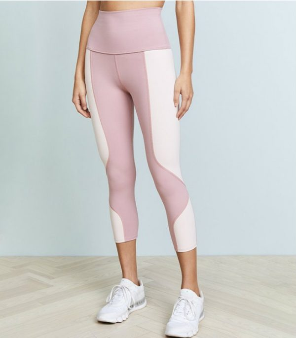Splicing Nylon Spandex Printed Leggings Manufacturer USA