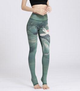 Watercolor Printed Leggings Manufacturer USA