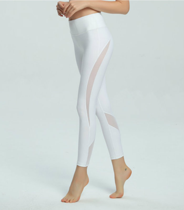 White Leggings For Yoga And Sports USA