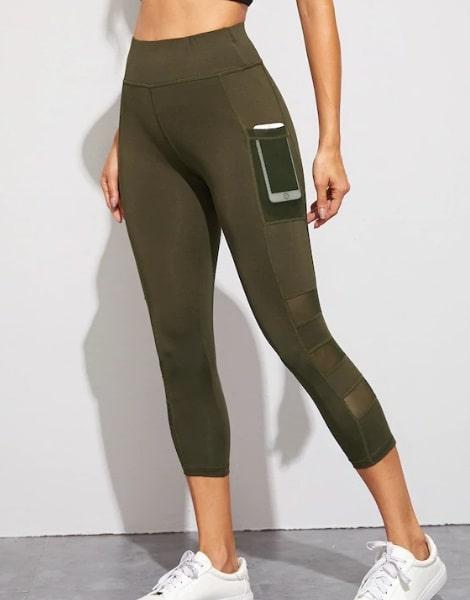 bulk breathable nylon womens gym capri leggings