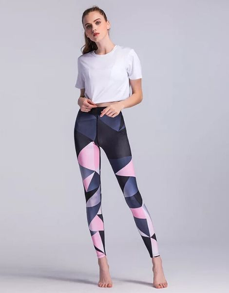 Wholesale Gradually Color Changing High Waist Leggings
