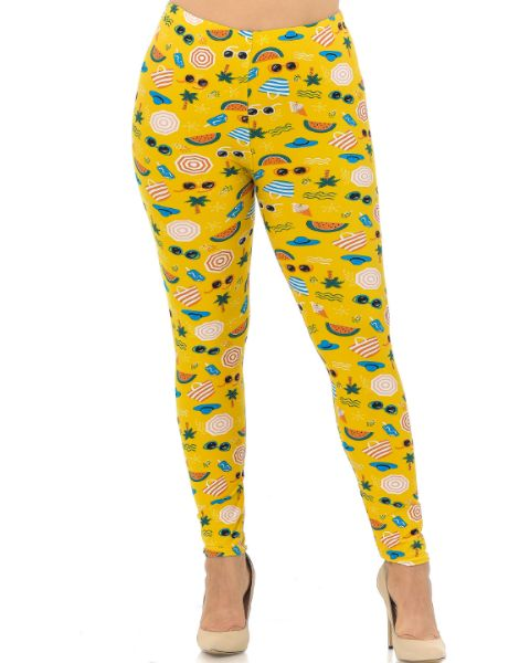Bulk Fruits Printed Leggings