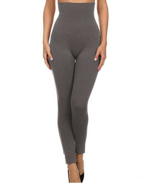 bulk high waist fleece line women leggings