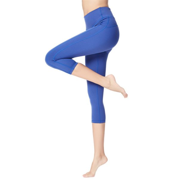 bulk quick-drying high waist capri