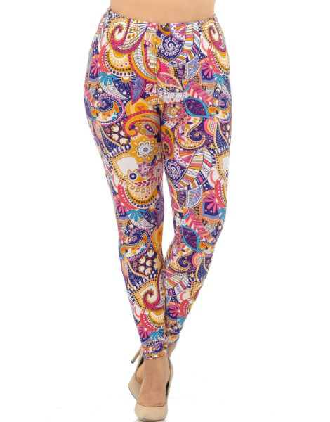 wholesale bulk multi-print leggings