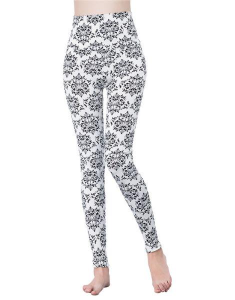 custom high-waist printed spandex leggings manufacturers