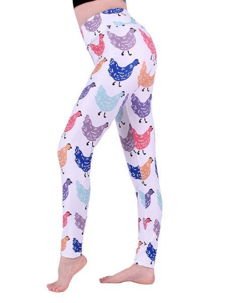 bulk chicken printed leggings