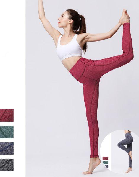 bulk high waisted elastic breathable womens fitness leggings