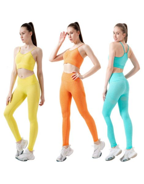custom 2 piece shockproof womens fitness legging