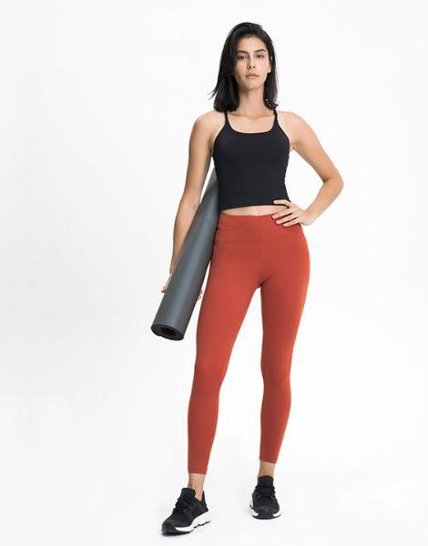 custom breathable nylon women fitness leggings manufacturers