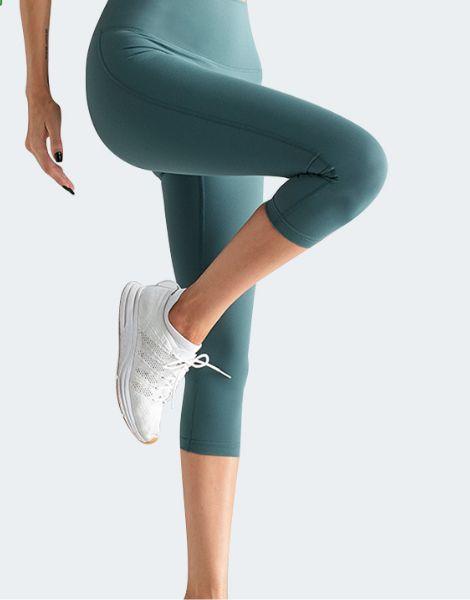 bulk high waisted yoga capri leggings
