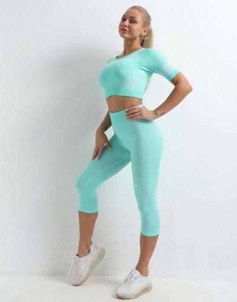 custom quick dry spandex women capri leggings manufacturers