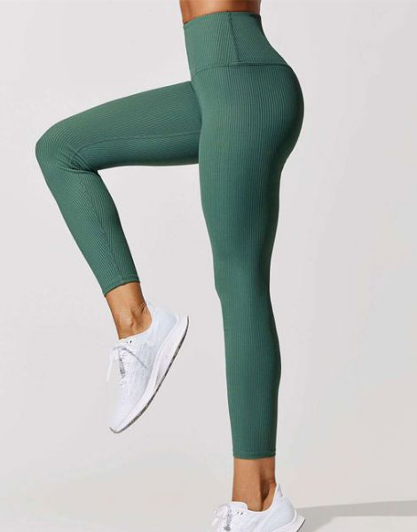wholesale spandex ribbed yoga leggings manufacturers