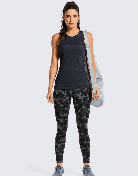 wholesale bulk high waisted printed leggings with pocket manufacturers