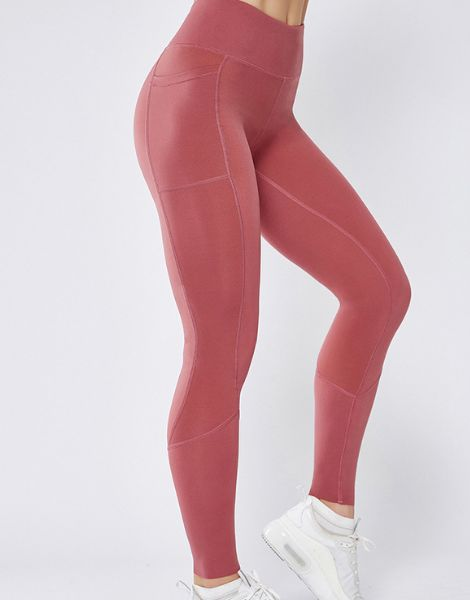 wholesale high waisted stretch seamless leggings