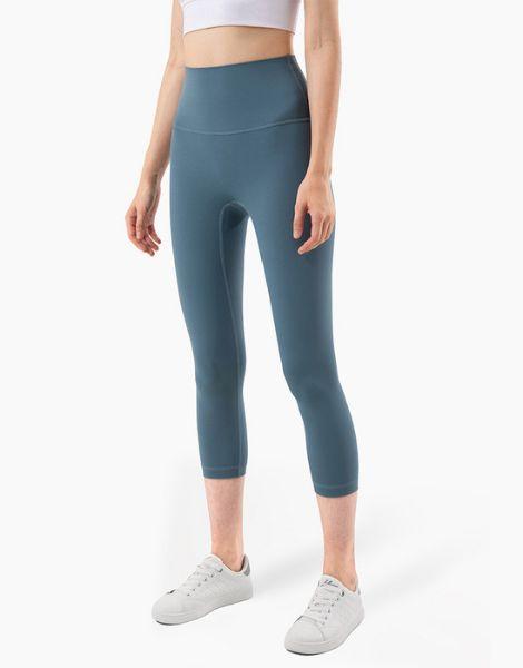 bulk high waisted stretchy capri leggings