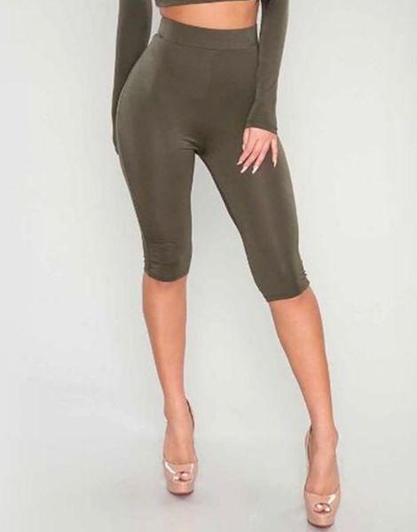 bulk high waisted women capri leggings